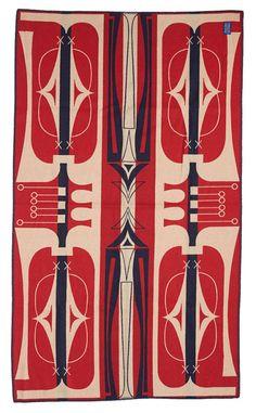 Pendleton® Parfleche Saddle Blanket, Scarlett $135