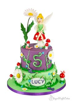 Tinkerbell - Cake by SugarMagicCakes (Christine)