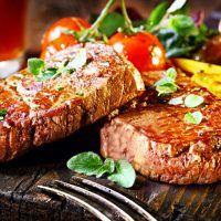 Recept : Cuketové řezy na způsob Sachera | ReceptyOnLine.cz - kuchařka, recepty a inspirace Carne Asada, Eating Plans, Meatloaf, Seafood, Fries, Steak, Plates, Cooking, Portal