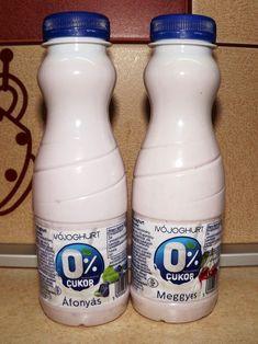 Hozzáadott cukormentes ivójoghurtok