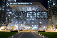 seattle public library. rem koolhaus and cecil balmond. 2004.