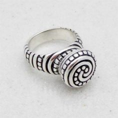 James Avery Sterling Silver African Bead Ring