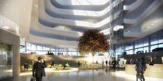 Atrium. Image © Henning Larsen Architects