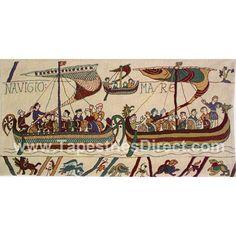 Bayeux Tapestry - Navigio Mare 56cm x 113cm
