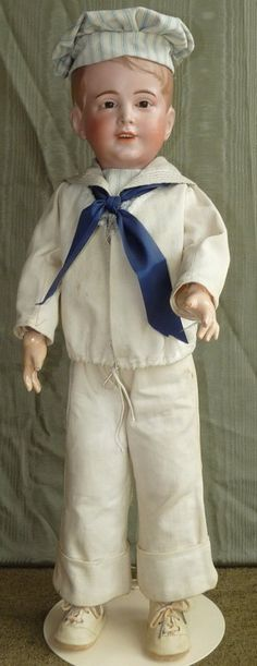 Sale! SFBJ 237 in Extra Large Size, a Real Little Boy! - Bunny's Babies #dollshopsunited