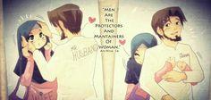 I love my husband Islam Marriage, Marriage Relationship, Love And Marriage, Successful Marriage, Relationships, Hadith, Cute Muslim Couples, Islam Women, Anime Muslim