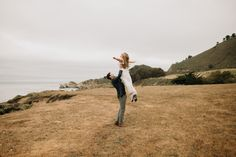 Big Sur Adventure from rocky cliffs to cows in meadows it was so fun to see a new location. I hope you enjoy this California engagement session on a beautiful private ranch in Big Sur. Big Sur California, California Coast, California Wedding, Cows, Engagement Session, Ranch, Explore, Adventure, Couple Photos