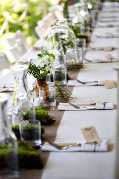 Wedding Decor Trend: The Bell Jar The Bell Jar, Bell Jars, Green Wedding, Wedding Flowers, Luxe Wedding, Trendy Wedding, Gypsy Wedding, Wedding Rustic, Botanical Wedding Invitations