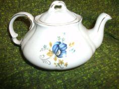 Ellgreave Genuine Ironstone England tea pot by AuntieAnnsEmphorium, $14.00