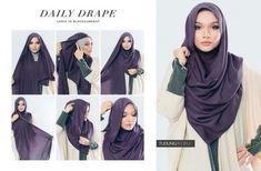 68 ideas for fashion hijab style simple scarfs Pashmina Hijab Tutorial, Hijab Style Tutorial, Hijab Wedding Dresses, Hijab Bride, How To Wear Hijab, Stylish Hijab, Hijab Chic, Simple Hijab, Turban Hijab