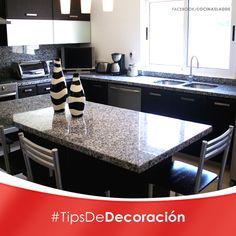 Cocinas on pinterest kitchen designs kitchens and - Barras para cocinas pequenas ...