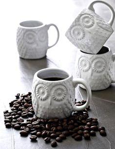 ☕ Owl coffee mugs ☕
