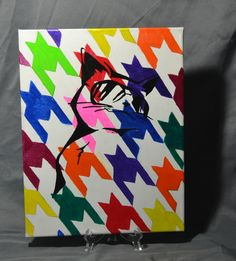 Cool Cat (in Shades) Canvas