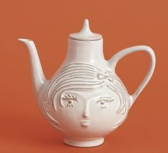 jonathan adler - Inspiration for gourd application? Young woman's face.
