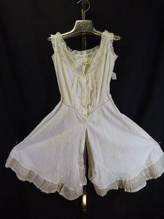 Edwardian combination, underwear