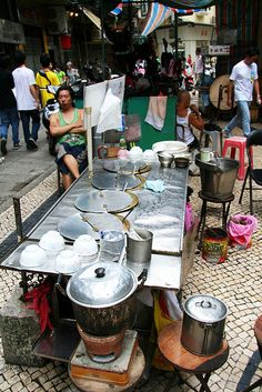 Street Food Vendor, Macau, China