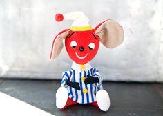 Vintage Toy Mouse R. Dakin & Co. Dream Pets / ReneeVintage