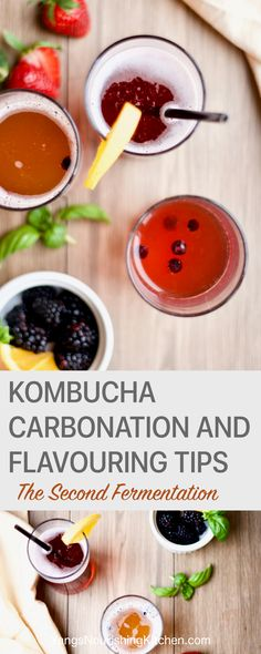 Part #2 of my kombucha series. I will share tips on how to make fizzy and flavoured kombucha. Kombucha carbonation is created during kombucha's 2nd fermentation process by infusing kombucha with additional ingredients and let it continue to ferment in a tightly sealed bottle. This article is all about making your kombucha's second fermentation as successful as possible, so that you can create the kind of kombucha flavour and carbonation you desire!