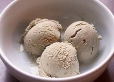 Coffee Ice Cream via Espresso and Cream