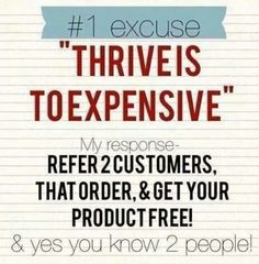 I got $150 in free product this month!!!   www.taks101.Le-Vel.com