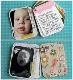 Journaling Cards Mini Album