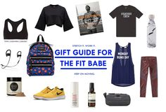 Do you have a friend who loves to work out? Here are some Christmas ideas for the fit babe! Merry Christmas ~