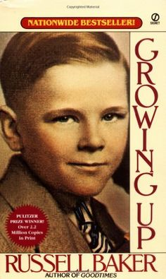 """Growing Up (Signet): This Pulitzer Prize-winner is """"the saddest, funniest, most tragical yet comical picture of coming of age in the U. in the Depresson years and World War II that has ever been written. Growing Up Book, Books To Read, My Books, Award Winning Books, Good Cheer, Coming Of Age, Book Nooks, Copics, Little Sisters"""