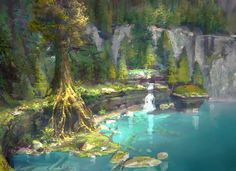 How to Train Your Dragon Cove by NathanFowkesArt.deviantart.com on @DeviantArt