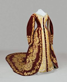 Russian court dress