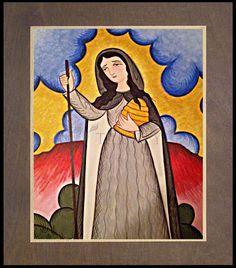 Gobnait by A. Catholic Saints, Patron Saints, Wood Plaques, Honey Bees, Art Icon, Religious Art, Disney Characters, Fictional Characters, Aurora Sleeping Beauty