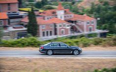 Neue Art des Schwebens mit dem BMW 7er