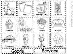 Goods And Services Sort Freebie! Perfect For Kindergarten Or First – Free Worksheets Samples Kindergarten Social Studies, Social Studies Worksheets, Social Studies Activities, Teacher Worksheets, Kindergarten Science, Teaching Social Studies, Kindergarten Worksheets, Teaching Science, Printable Worksheets