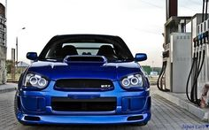 Blue Beauty!! SUBARU IMPREZA WRX
