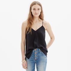 Silk Camisole : shirts & tops | Madewell