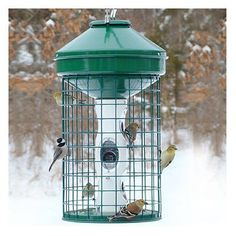 HD Caged Seed Feeder -- Continue to the product at the image link. (This is an affiliate link and I receive a commission for the sales) #DogCare