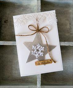 Glasdeko - Mary-Jane´s Weihnachtskarten Challlenge