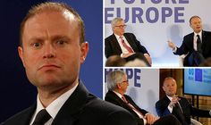 Joseph Muscat - another 4thReich gestapo - 'no need for democracy, we decided on the migrant issue'