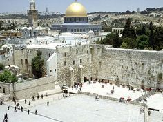 Jerusalem, Israel - Western Wall.  It has been way too long.  Need to go back!!!