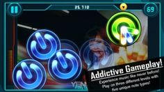 ReRave - This is a fun and challenging music game for iOS. It puts a new spin on the music game genre. The concept of the game is to tap various symbols on the screen at precise times to match the beats of songs. Some symbols require single taps, while other times you'll be required to complete more complicated moves based on difficulty level, but it's always extremely accurate and responsive to input. Click the image for our full review.