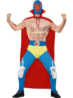 2019 Smiffy's Men's Mexican Wrestler Costume and more Boy's Halloween Costumes, Wrestling Costumes for Boys for Wwe Costumes, Wrestling Costumes, Adult Costumes, Sports Costumes, Mexican Costume, Mexican Outfit, Mexican Dresses, Halloween News, Cool Halloween Costumes