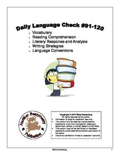 This is a great practice to practice and review important ELA skills tested on standardized tests, such as the CST. The packet is designed for 2nd ...
