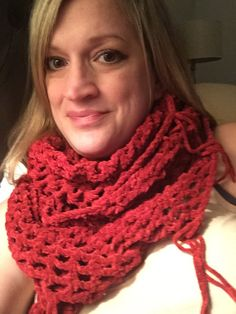 A personal favorite from my Etsy shop https://www.etsy.com/listing/250637769/crochet-suede-infinity-scarf-in-burgundy
