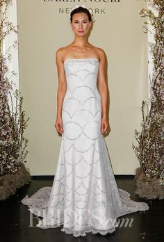 One word for this @SarehNouri dress: Wow! See the rest of her #bridalfashionweek collection: http://brid.es/1J33zgM