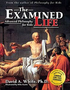 Examined Life: Advanced Philosophy for Kids by David White Ph.D. http://www.amazon.com/dp/1593630085/ref=cm_sw_r_pi_dp_rE5mvb06XD1M5