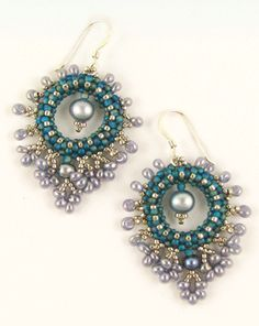 Earrings #beadwork