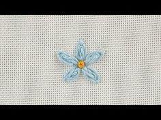Mavi Mine Çiçeği 2 | Berrin Şengöz ile Teknikler | Hobi Sitesi
