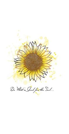 Do What's Good forthe Soul Wallpaper by Chelsea Tamim