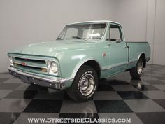 1967 Chevrolet C10    Repainted to the original color. :)