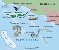 Map Of San Nicolas Island California Island Of The Blue - Map of san nicolas island and us