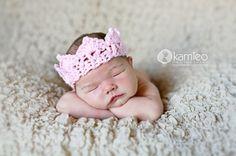 Crochet Crown, Newborn by Tete Montero